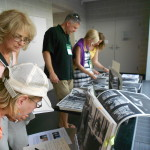 "Visitors Enjoy the ""Yearbox"" Photos"